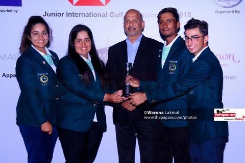 Mohammad Saqib triumphs in HSBC Sri Lanka International Junior Golf