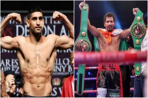 Boxing icon, Amir 'The King' Khan all set to take on India's