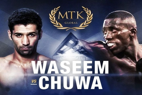 Muhammad Waseem's comeback bout against John Chuwa on